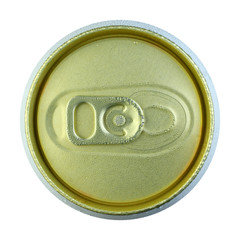 Close up cold can