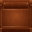 Leather vector background