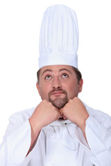 Chef daydreaming