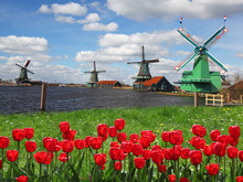 Moulins à vent aux Pays-Bas, Zaanse