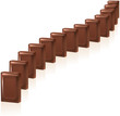 Chocolate Domino (Schokolade Domino)