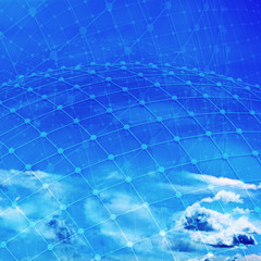 Network - 3D Rendering