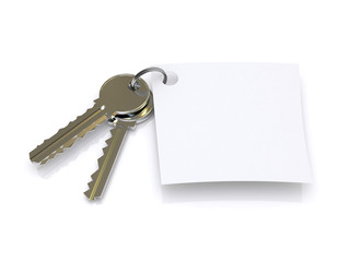 key and paper