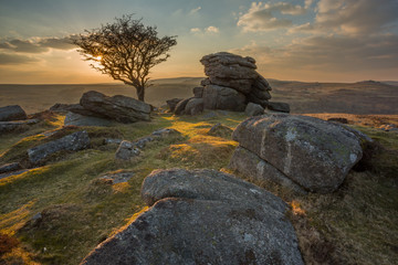 Emsworthy Dartmoor Devon Uk
