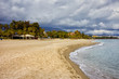 Beach in Marbella by the Mediterranean Sea