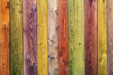 Fototapety colorful wood