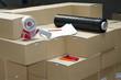 canvas print picture - préparation de commande