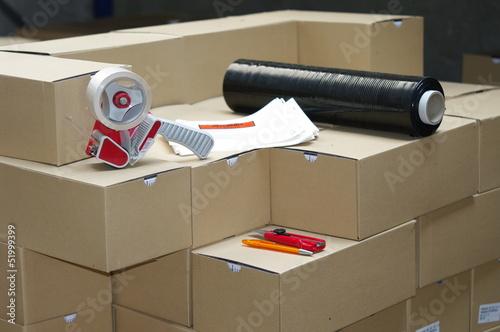 canvas print picture préparation de commande