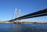 Cable-Stayed Bridge in St.Petersburg