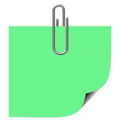 Post-it verde
