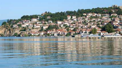 Lake And Old Ohrid, Republic Of Macedonia
