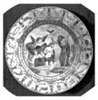 Scene : Baptism - Plate - Assiette - Teller - 18th century