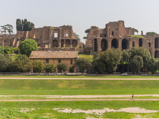 Roma, il Circo massimo, veduta