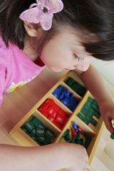 Montessori kindergarten.
