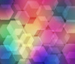 Varicoloured hexagons