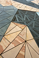 Architecture for Federation Square Building in Melbourne