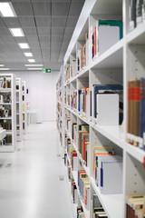 Buchregal Bibliothek