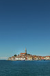 Adriatic coast of Croatia with a Coastal city Rovinj, peninsula