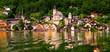 Panaramic view of the village of Hallstatt, Austria