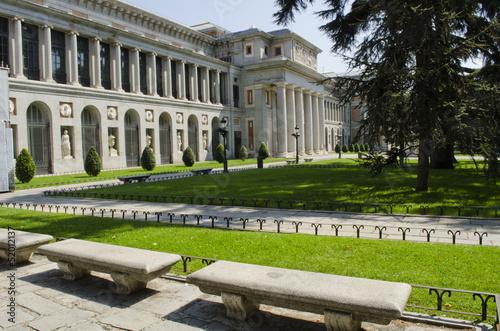 Fotobehang Madrid Prado Museum. Madrid. Spain.