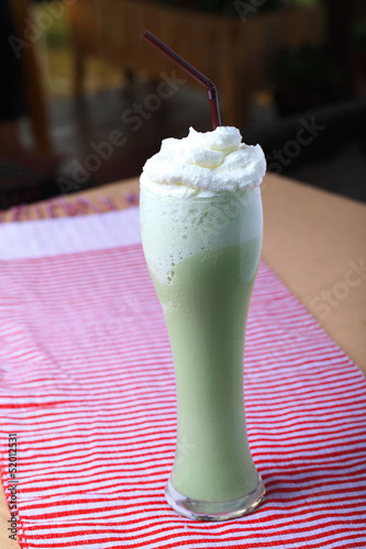 green tea blended