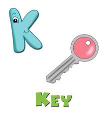 alfabeto, chiave