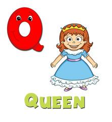 alfabeto, regina