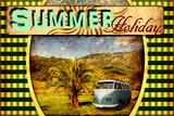 Retroplakat - Summer Holiday IV