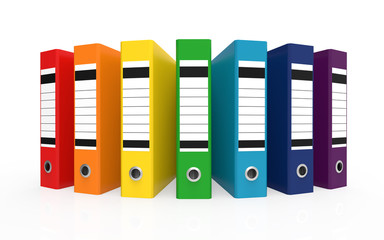 Colorful Office Folder