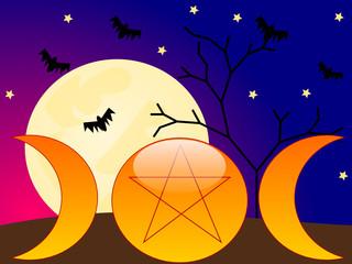Wicca background
