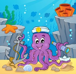Image with octopus sailor 2