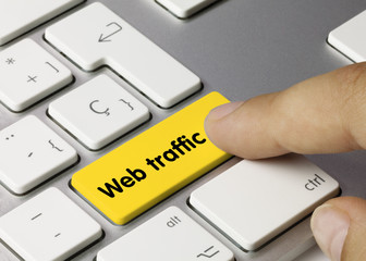 Web traffic keyboard