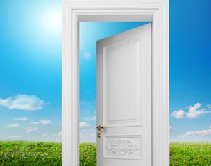 door to summer