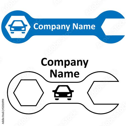 Autowerkstatt - Logo
