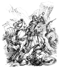 Historical Medieval Hero : Roland (Roncevaux)