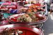 Spicy Prawns, Street Market Food, Thailand