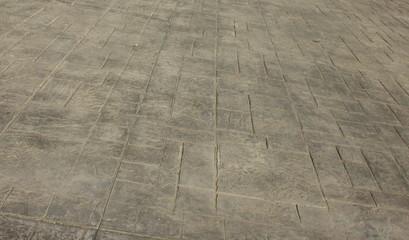Pavimento di cemento stampato come sfondo