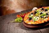 Fresh italian pizza - 52029182