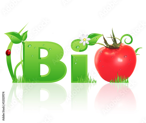 "Word ""Bio"" ecological design"
