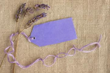 Dry lavender romantic vintage gift.