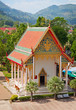 Old building - part of Buddhist temple complex. Thailand.