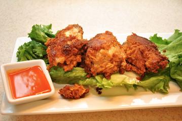 Crunchy Buffalo Chicken Chicken Wings