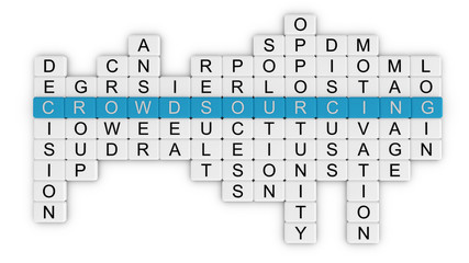Crowdsourcing crossword_top view