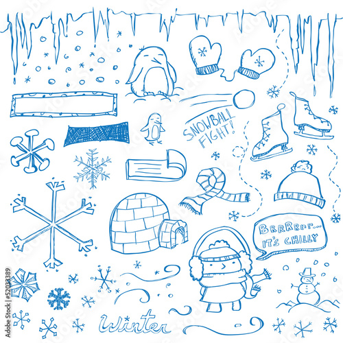 Winter Doodles