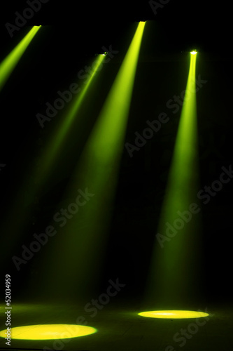 stage lighting effect