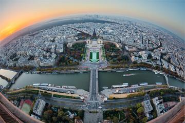 Paris vue panoramique
