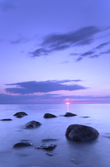 Baltic sea view, beautiful summer photo