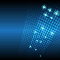 digital network technology background