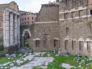 Roma, il Foro di Augusto (part.)