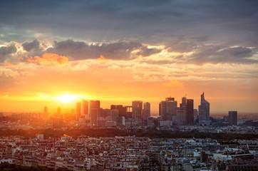 Paris skyline la défense
